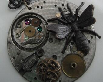 Black Wasp Pendant