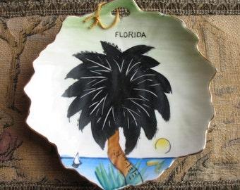 Florida Souvenir Dish, Nico, Made in Japan