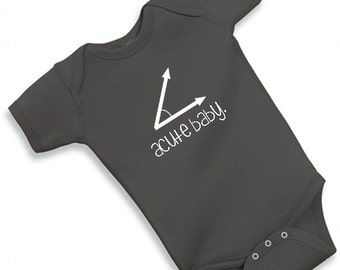 0fc054339 CUTE BABY one piece cute funny adorable bodysuit baby shower boy girl math  geek nerdy nerd