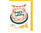 Happy Cakeday Card