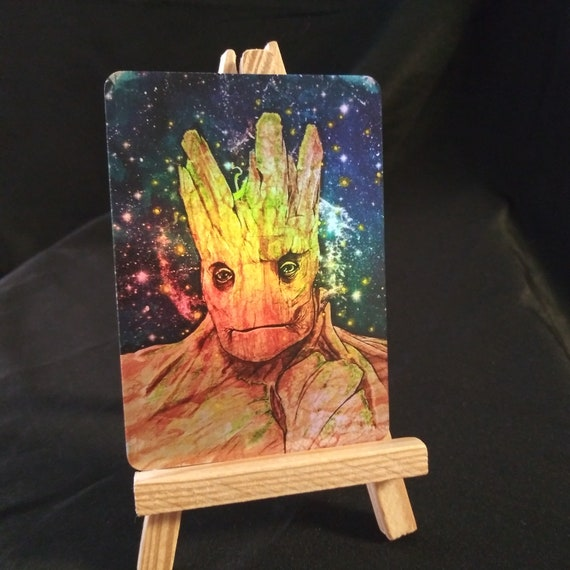 Groot Holofoil Trading Card