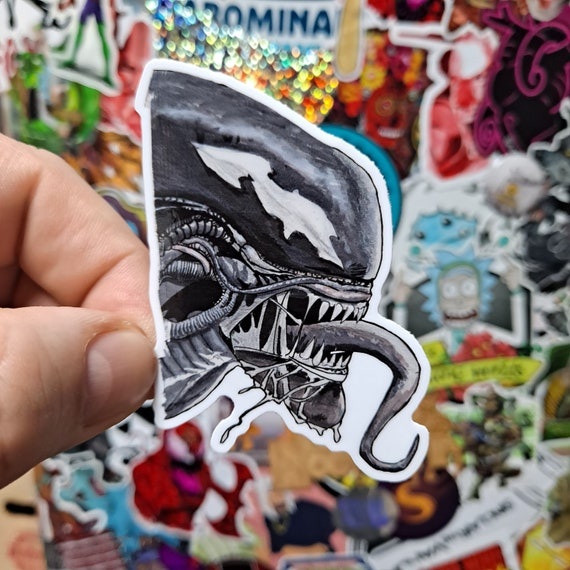 Venomized Alien Symbiote Xenomorph Sticker