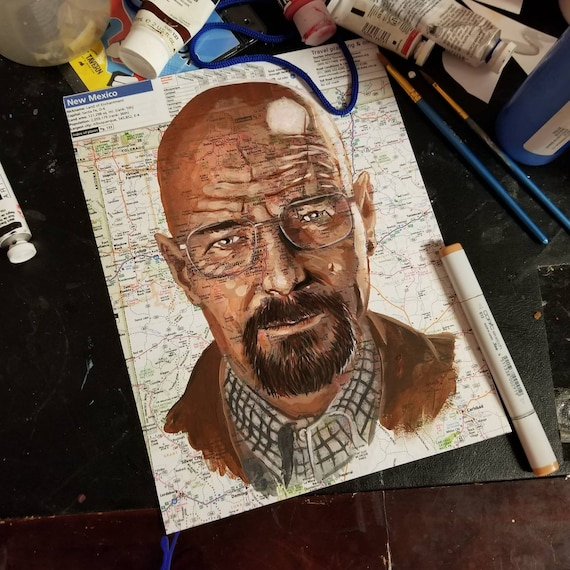Walter White Sketch Atlas