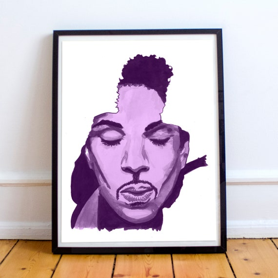 Prince Watercolor Painting Fine Art Print