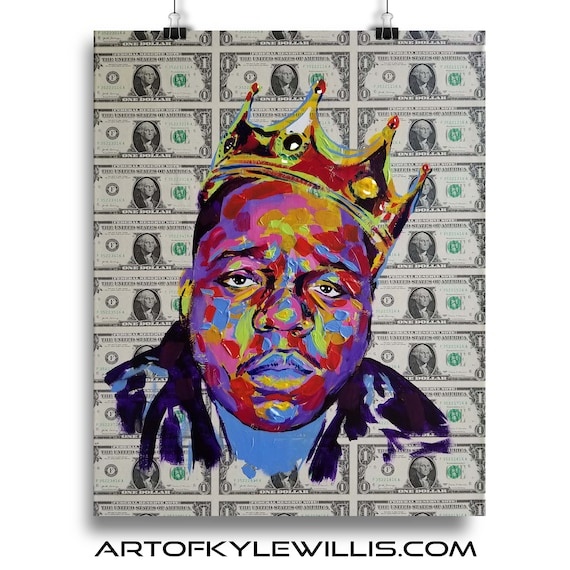 Dolla Dolla Bill - Biggie Smalls Notorious B.I.G. Limited Edition Print