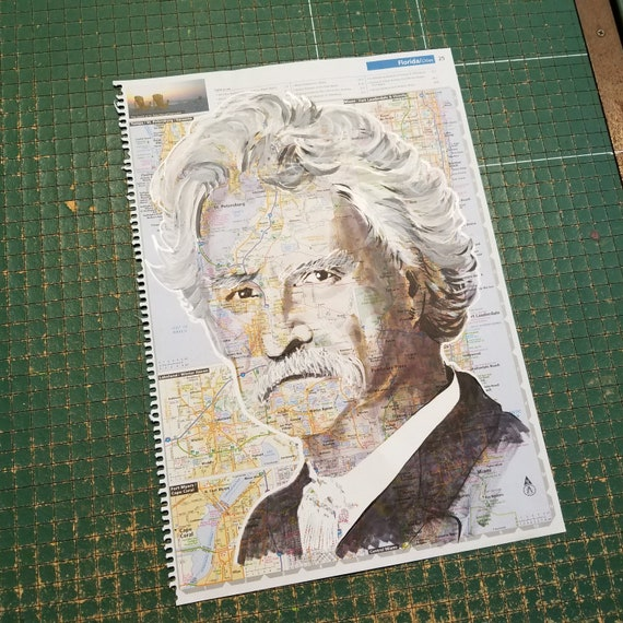 Mark Twain Sketch Atlas