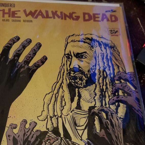 The Walking Dead #163 Ezekiel Sketch OOAK