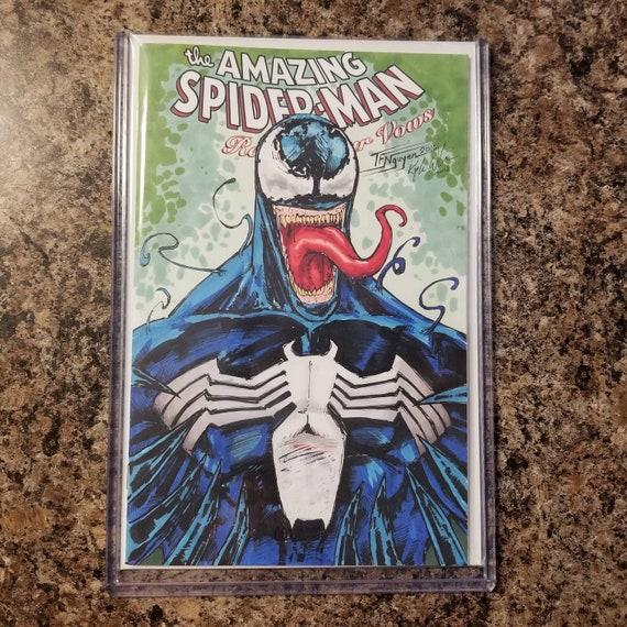 Amazing Spider-Man #1 Blank Sketch Cover
