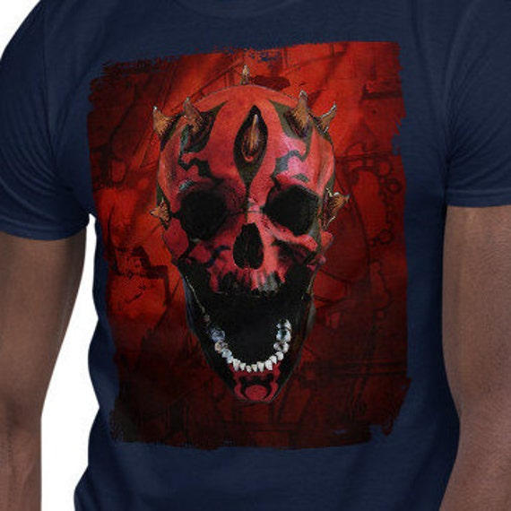 Darth Skull - Darth Maul themed Skull Tee