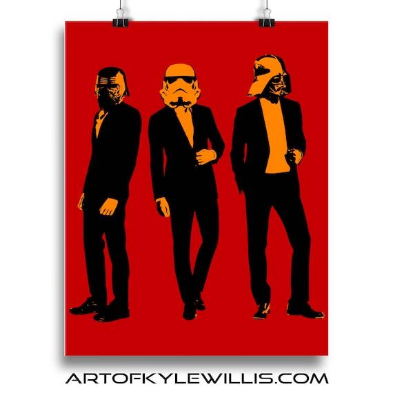 Star Wars Storm Troopers Fine Art Print