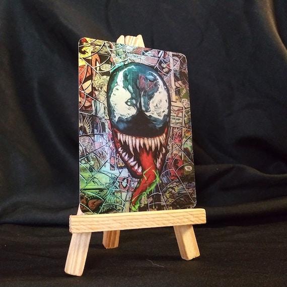Venom Collage Holofoil Trading Card