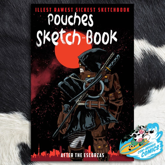 Pouches Sketch Book 2020 Last Ronin Tribute