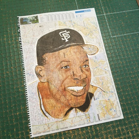Willie Mays Sketch Atlas
