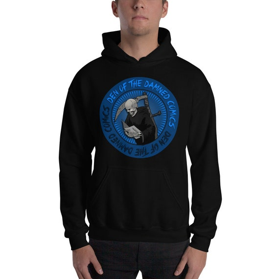 Den of the Damned Hooded Sweatshirt