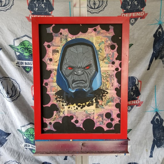 Darkseid Acrylic Painting