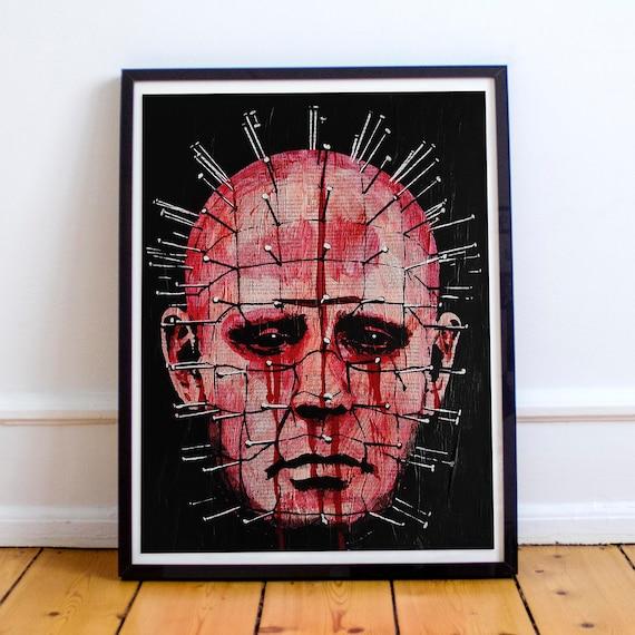 Pinhead - Hellraiser Horror Classics Painting Fine Art Print