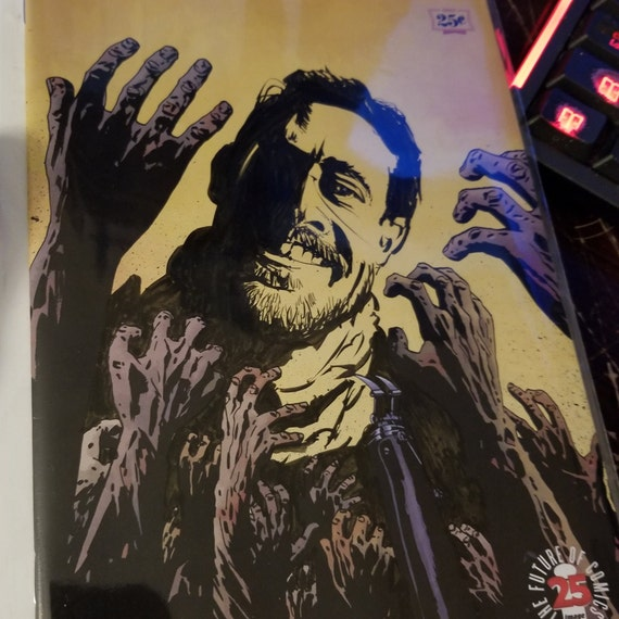 The Walking Dead #163 Negan Sketch OOAK