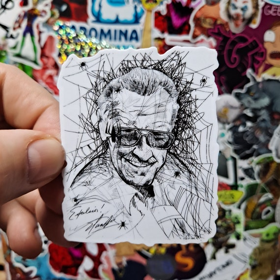 Stan Lee Sticker