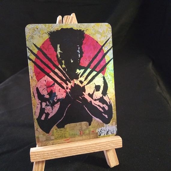 Wolverine Logan Mosaic Holofoil Trading Card