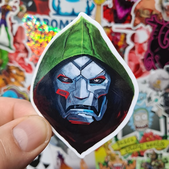 Dr Doom Sticker