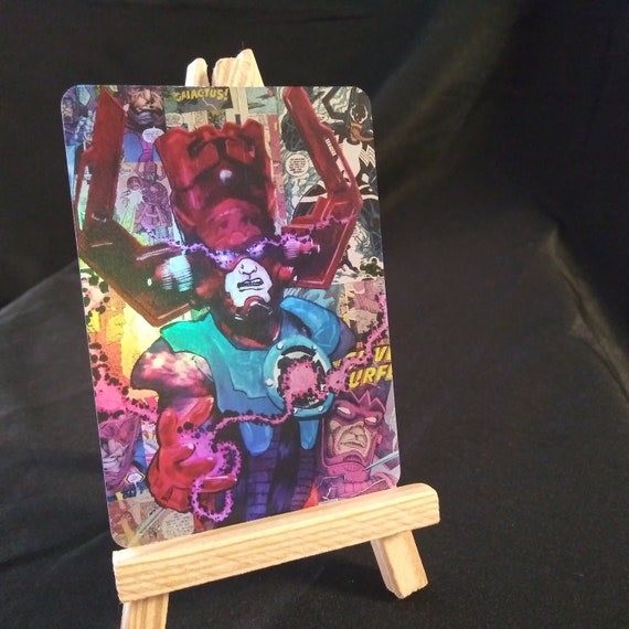Galactus Collage Holofoil Trading Card