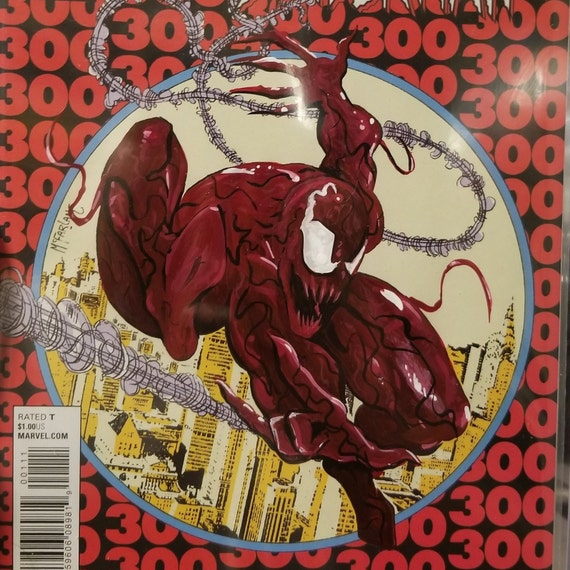 Venom VS Spider-Man #1 first print with Acrylic Remarks