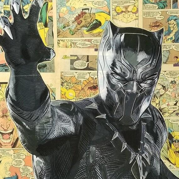 Black Panther Original Painting