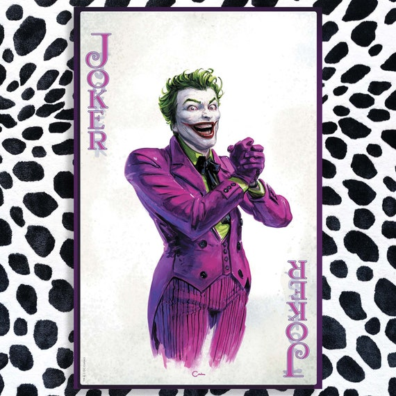 Joker: Year of the Villain with acrylic remarque of your choice