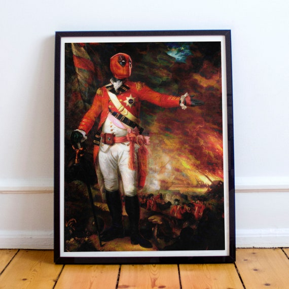 General Deadpool - Classical Painting Fine Art Print