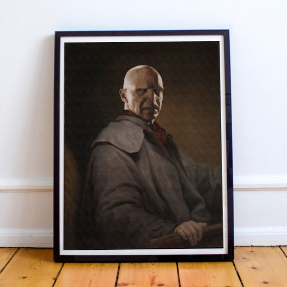 Lord Voldemort - Harry Potter Classical Painting Fine Art Print