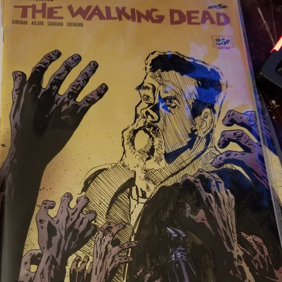 The Walking Dead #163 Abraham Ford Sketch OOAK