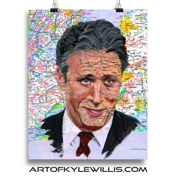 Jon from New York Sketch Atlas marker portrait fine art print
