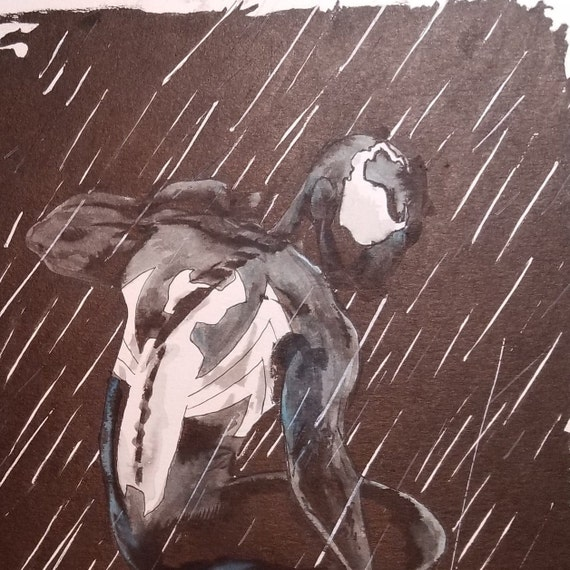 Spider-Man India Inkwash