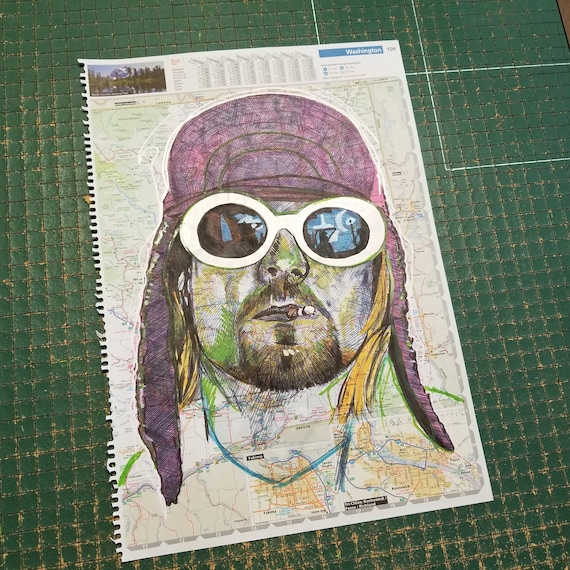 Kurt Cobain Sketch Atlas