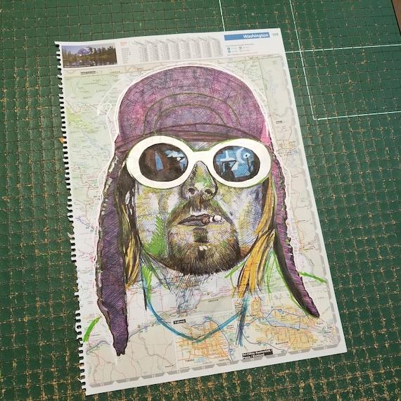 Kurt Cobain Sketch Atlas