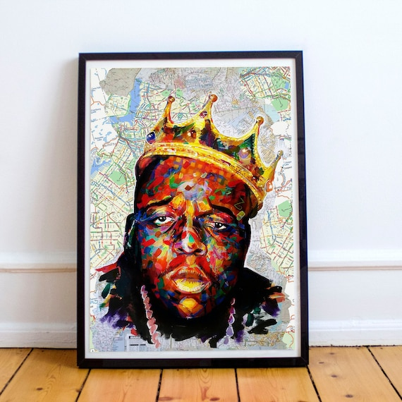 King of Brooklyn Limited Edition Print
