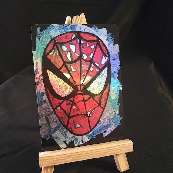Spider-Man Mosaic Holofoil Trading Card