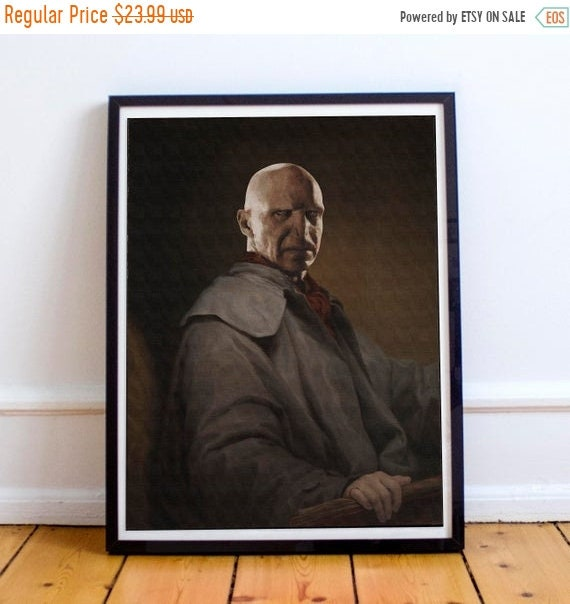 On Sale Lord Voldemort - Harry Potter Classical Painting Fine Art Print