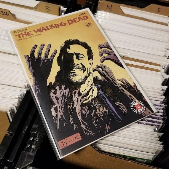 The Walking Dead #163 Negan Sketch OOAK