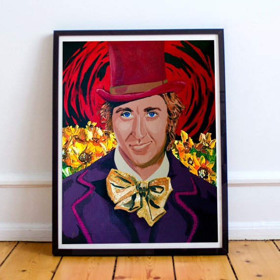 The Candyman - Gene Wilder Willy Wonka and the Chocolate Factory Fine Art Print