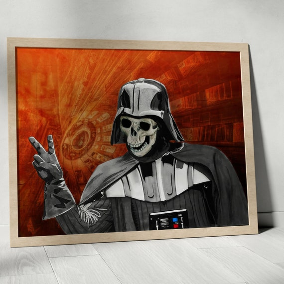 May the Peace of the Sith Lord be Always with You - Darth Vader  STAR WARS Fine Art Print