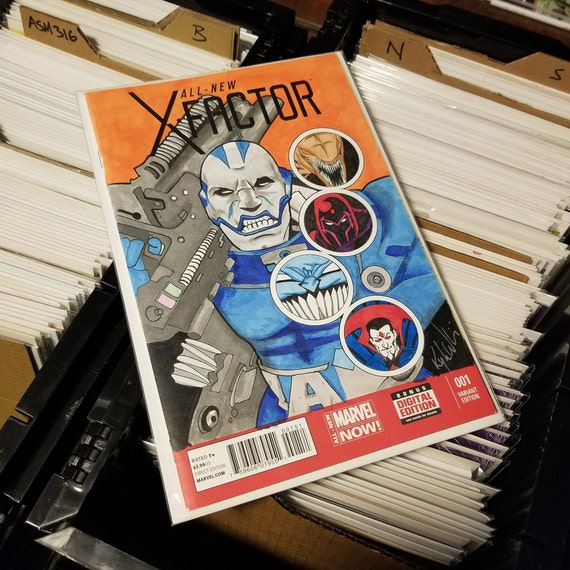 X-Factor #1 Blank Sketch Cover