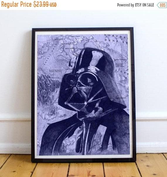 On Sale Darth Vader - STAR WARS Sith Lord Ballpoint Pen Fine Art Print