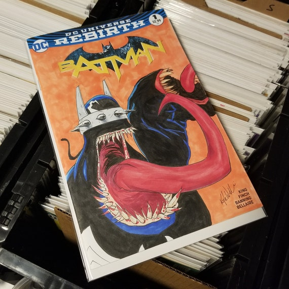 Batman #1 Blank Sketch Cover