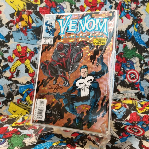 Venom Funeral Pyre #1 Remarked & Double Signed!