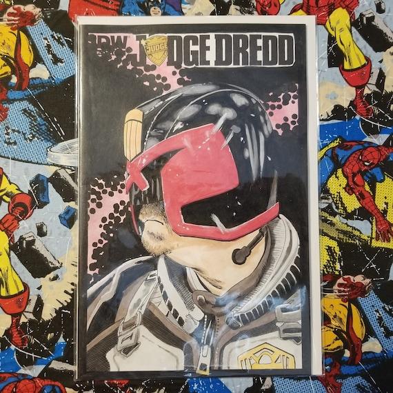Judge Dredd #1 Blank Sketch Cover