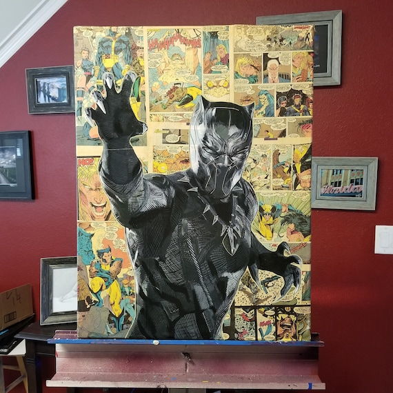 Black Panther Original Painting