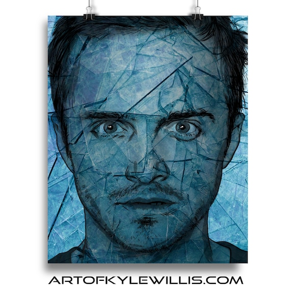 Jesse Pinkman - Breaking Bad Aaron Paul Illustration Fine Art Print