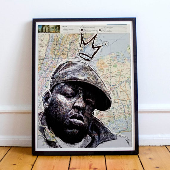 Biggie from Brooklyn - Biggie Smalls Notorious B.I.G. Limited Edition Print