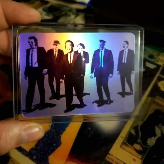 Reservoir Kings - Reservoir Dogs + Joker from Batman Holofoil Trading Card